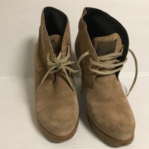 Prada suede boots size 37.5
